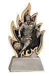 Male Ignite  Resin Soccer Trophies