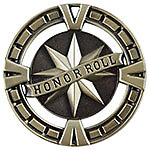 Big Honor Roll Medals BG465 with Neck Ribbons