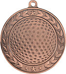 Illusion Golf Medals 44021 includes Neck Ribbons