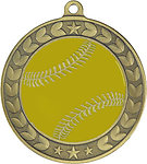 Illusion Softball Medals 44020 includes Neck Ribbons