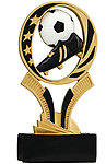 MidNite Star Resin Soccer Trophies