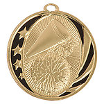 MidNite Star Cheer-leading Medals MS703