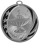 Lamp of Knowledge Medals MS-706 With Neck Ribbon