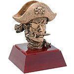 Pirate Mascot Trophy