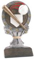 All Star Baseball Trophy Resin Statue