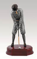 Golf Resin Trophy Sculpture  RFC947