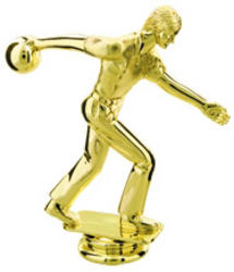 Men's Bowling Trophy Figure RP80175