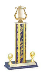 Band Trophies, Music Trophies, Square Column Trophies, S3