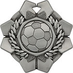 Imperial Soccer Medals 43615 with Neck Ribbons