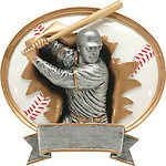 Baseball Resin Plaque Award 49503-89503