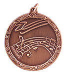 Shooting Stars Music Medals ST66 with Neck Ribbons