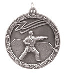 Shooting Stars Martial Arts Medals ST67 with Neck Ribbons