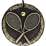 Tennis Medals XR222 with Neck Ribbons