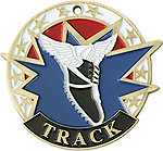 Colorful USA Track Medals 38160 with Neck Ribbons