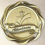 45016 Fusion Attendance Medals with Six Pricing Options