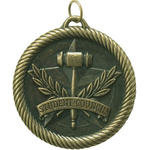 Student Council Medal VM-269 with Neck Ribbon