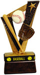 Resin Sports-Band Baseball Trophies