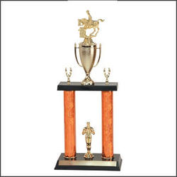 2 Posts Equestrian Trophies, Horse Show Trophies and Rodeo Trophies
