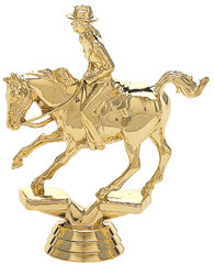 Female Cutting Horse Trophy Figure 717