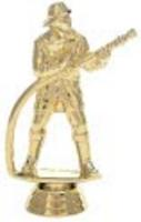 Fireman with Hose Trophy Figure 568