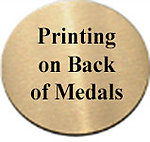 Imperial Cross Country Track Medals 43662 with Neck Ribbons