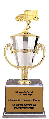 BMRC Antique Car Cup Trophies with Three Size Options